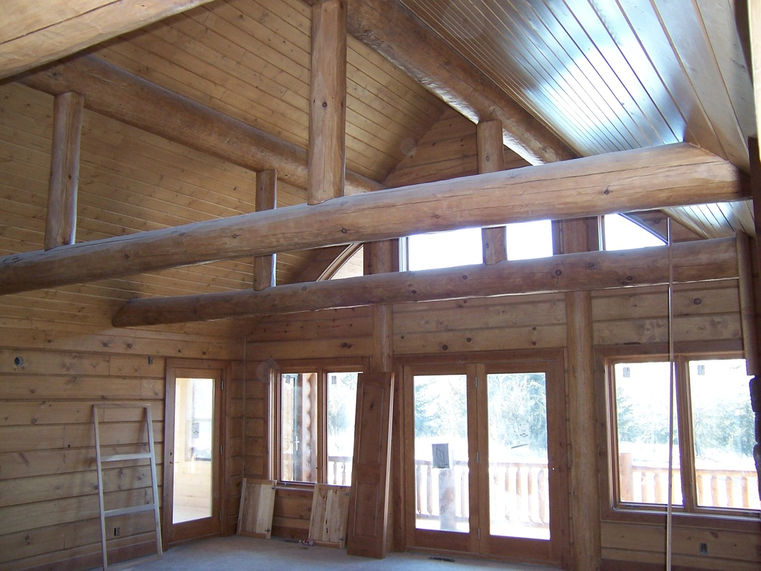 we apply waterborne stain and finish to the interior this keeps the